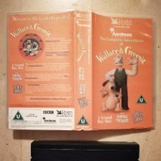 Cine: VHS ORIGINAL - WALLACE AND GROMIT (V.O) - INFANTIL - DIBUJOS ANIMADOS. Lote 122931667