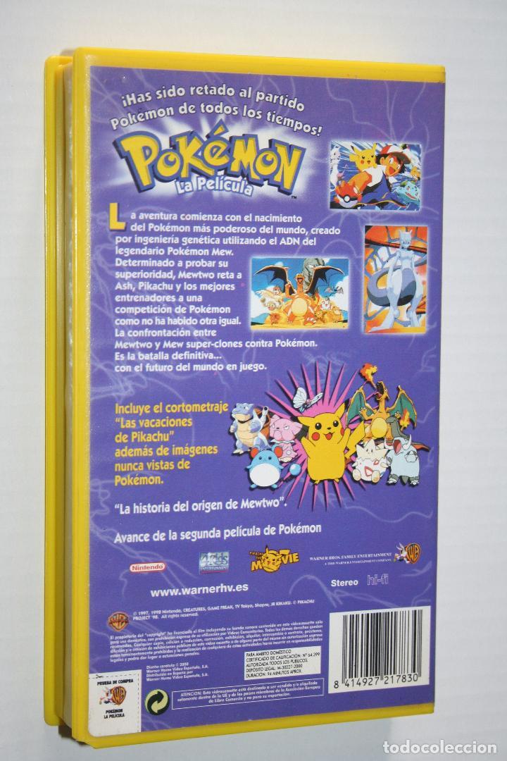 Cine: POKEMON: LA PELÍCULA *** CINE VHS DIBUJOS ANIMADOS *** WARNER BROS (2000) - Foto 2 - 122979615