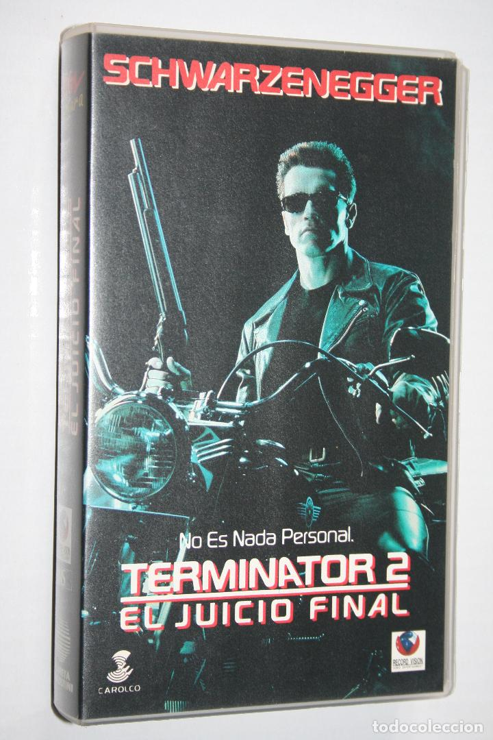 TERMINATOR 2 (A.SCHWARZENEGGER) *** CINE VHS ACCION *** RECORD VISION (1992) (Cine - Películas - VHS)