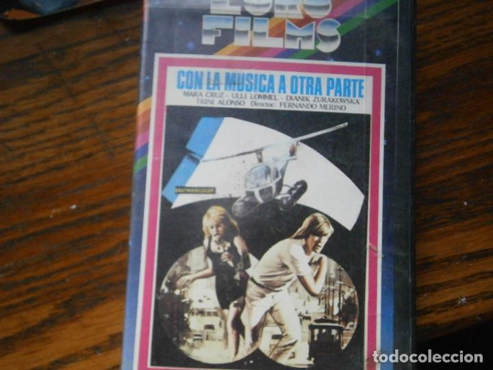 Cine: CON LA MUSICA A OTRA PARTE,,,PRIMERA EDICCION UNICA TC - Foto 3 - 123038471