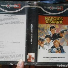 Cine: NAPOLES DISPARA ,,UNICA EN TC RRAREZON DIFICIL DE EN CONTRAR . Lote 123038927