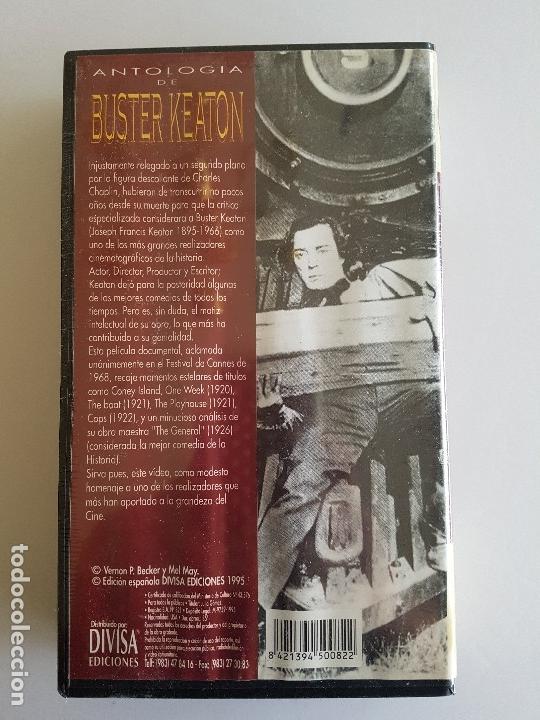 Cine: Charlie Chaplin y Buster keaton VHS precintadas - Foto 7 - 38957743