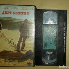 Cine: VHS • LOS HIJOS DEL DÍA Y DE LA NOCHE (JEFF & SONNY, 1973) SERGIO CORBUCCI - TOMÁS MILIAN. Lote 123111347
