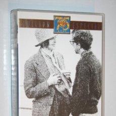 Cine: ANNIE HALL (WOODY ALLEN) *** VHS EDICION ESPECIAL 75 ANIVERSARIO WARNER BROS. Lote 123362207