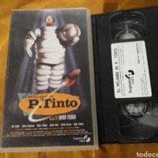 Cine: VHS- EL MILAGRO DE P. TINTO- JAVIER FESSER. Lote 123364091