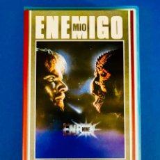 Cine: ENEMIGO MÍO VHS - DENNIS QUAID. Lote 123392150