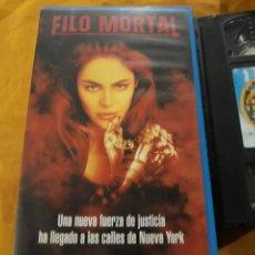 Cine: VHS- FILO MORTAL (WITCHBLADE)- YANCY BUTLER. Lote 123431223