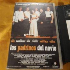 Cine: VHS- LOS PADRINOS DEL NOVIO- DREW BARRYMORE. Lote 123573786