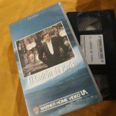 Cine: VHS- EL LADRON DE PARIS- JEAN-PAUL BELMONDO. Lote 123853755