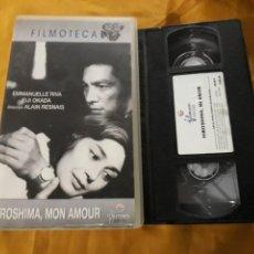 Cine: VHS- HIROSHIMA MON AMOUR- ALAIN RESNAIS. Lote 124028906