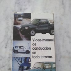 Cine: VIDEO MANUAL DE CONDUCCION EN TODO TERRENO.. Lote 124280930