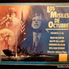 Cine: LOS MISILES DE OCTUBRE (1974) - VOL. I Y II (ESTUCHE DOBLE EXCLUSIVO). Lote 124284119