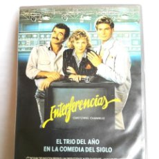 Cine: VHS - INTERFERENCIAS - KATHLEEN TURNER, BURT REYNOLDS, CHRISTOPHER REEVE - COMEDIA. Lote 124318011