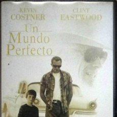 Cine: TODOVHS: UN MUNDO PERFECTO (KEVIN COSTNER, CLINT EASTWOOD, LAURA DERN) PARTICULAR. Lote 124408283