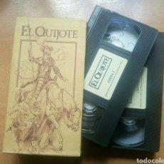 Cine: VHS EL QUIJOTE 2 CINTAS CENTRAL HISPANO. Lote 124655763