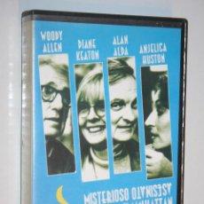 Cine: MISTERIOSO ASESINATO EN MANHATTAN (WOODY ALLEN) *** VHS CINE *** COLUMBIA TRISTAR (1994). Lote 125031323