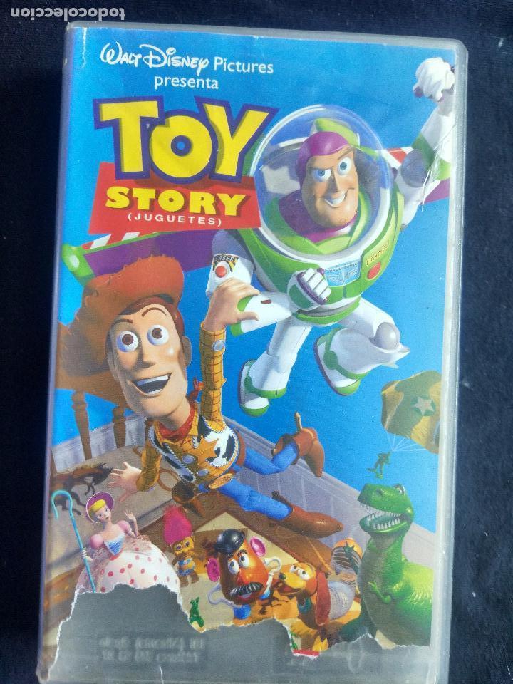 TOY STORY. DISNEY (CLÁSICOS). VHS ORIGINAL. CINE INFANTIL. DIBUJOS ANIMADOS. (Cine - Películas - VHS)