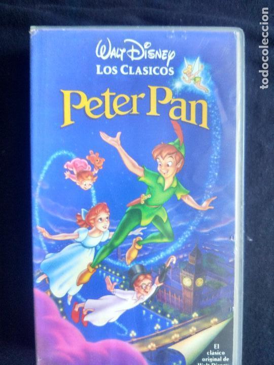 PETER PAN. DISNEY (CLÁSICOS). VHS ORIGINAL. CINE INFANTIL. DIBUJOS ANIMADOS. (Cine - Películas - VHS)