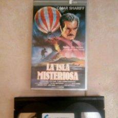 Cine: LA ISLA MISTERIOSA - JUAN ANTONIO BARDEM - OMAR SHARIFF - VHS. Lote 125269435