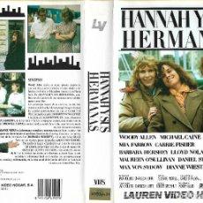 Cine: HANNAH Y SUS HERMANAS WOODY ALLEN 1 EDICION. Lote 125288511