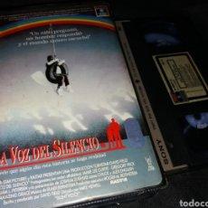 Cine: LA VOZ DEL SILENCIO- VHS- GREGORY PECK- SILENT VOICE. Lote 125326140