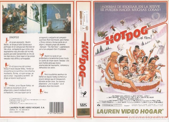 VHS - HOT DOG EL FILM - TEEN MOVIE (Cine - Películas - VHS)