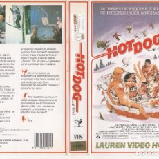 Cine: VHS - HOT DOG EL FILM - TEEN MOVIE. Lote 125402191