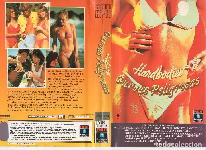 VHS - HARDBODIES CURVAS PELIGROSAS - TEEN MOVIE (Cine - Películas - VHS)