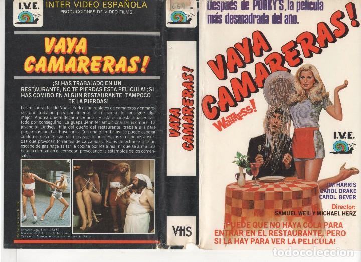 VHS - VAYA CAMARERAS - TEEN MOVIE (Cine - Películas - VHS)