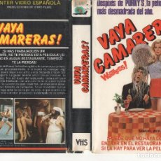 Cine: VHS - VAYA CAMARERAS - TEEN MOVIE. Lote 125402623