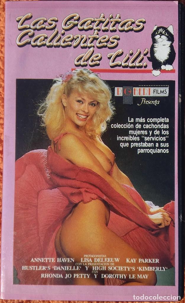 ((PELICULA-VHS)) LAS GATITAS CALIENTES DE LILI - ERÓTICO - 1980 (Cine - Películas - VHS)