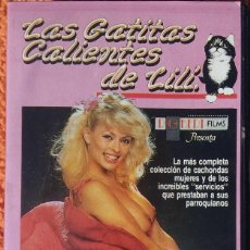 Cine: ((PELICULA-VHS)) LAS GATITAS CALIENTES DE LILI - ERÓTICO - 1980. Lote 125847239