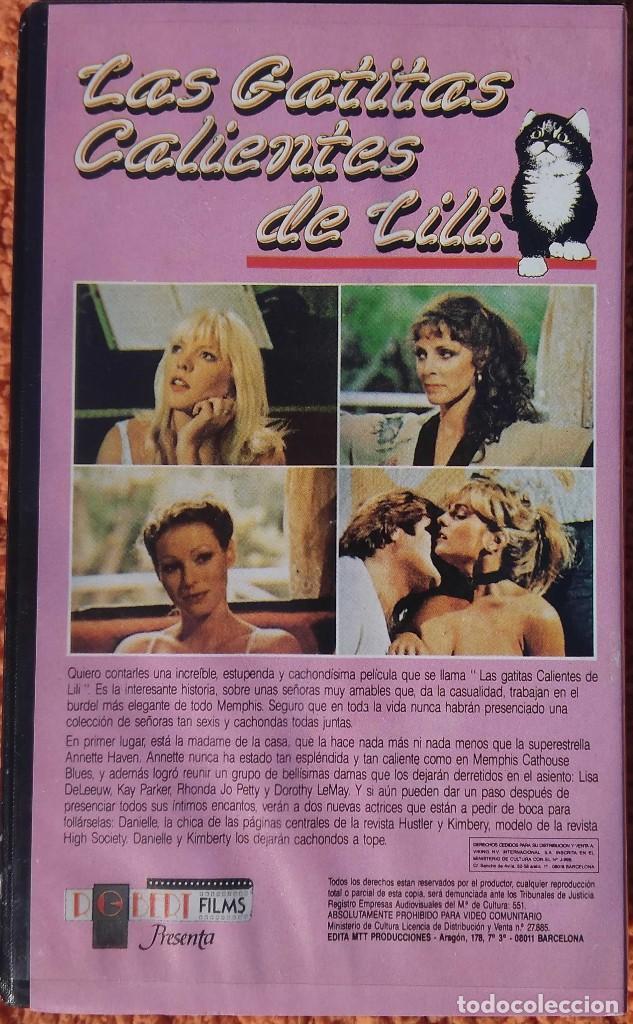 Cine: ((PELICULA-VHS)) LAS GATITAS CALIENTES DE LILI - erótico - 1980 - Foto 2 - 125847239