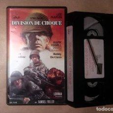 Cine: VHS • UNO ROJO, DIVISIÓN DE CHOQUE (1980) SAMUEL FULLER, MARK HAMILL. Lote 126083439