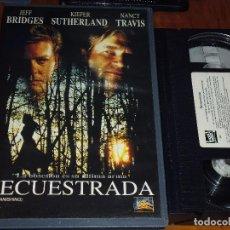 Cine: SECUESTRADA - VHS - PEDIDO MINIMO 6 EUROS. Lote 126100531