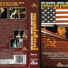 Cine: ESPIAS SIN FRONTERAS - GENE HACKMAN - MIKHAIL BARY SHNIKOV - CIOLECCION PARTICULAR - REGALO MONTAJE . Lote 126145927