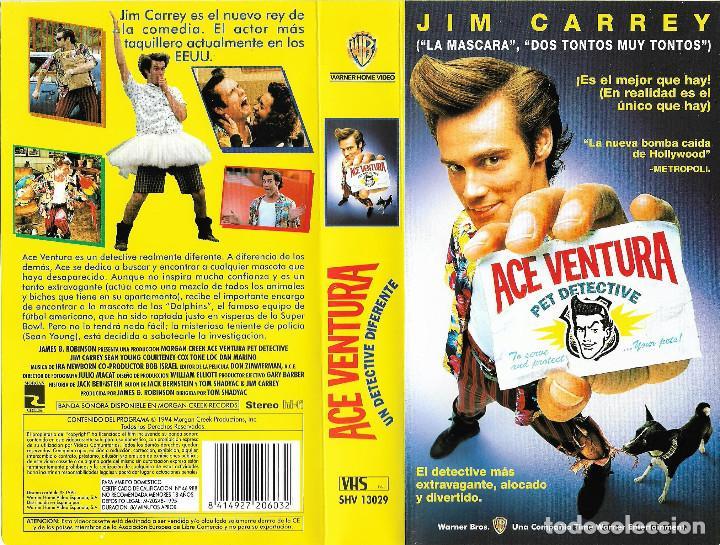 Ace Ventura Un Detective Diferente Jim Carrey Sold Through Direct Sale 126146847