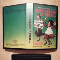 Cine: ANTIGUA EDICION ORIGINAL - DOS PILLOS Y PICO - VHS - PACO MORAN - CINE ESPAÑOL - IGNACIO F. IQUINO. Lote 126509991