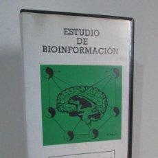 Cine: ESTUDIO DE BIOINFORMACION. TECNICAS DE INDUCCION Y PROFUNDIZACION DE RELAJACION E HIPNOSIS. VHS. Lote 126696407