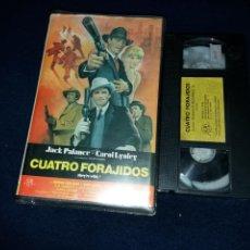 Cine: CUATRO FORAJIDOS- VHS- JACK PALANCE- CAROL LYNLEY- MAFIA - GANGSTERS- CANNON. Lote 126713602