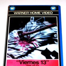 Cine: VIERNES 13 (FRIDAY THE 13TH) (1980) - SEAN S. CUNNINGHAM BETSY PALMER ADRIENNE KING VHS 1ª EDICIÓN. Lote 126919951