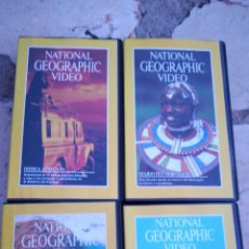Cine: 4 VIDEOS VHS NATIONAL. Lote 127460042