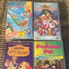 Cine: LOTE VHS DIBUJOS. Lote 127474931
