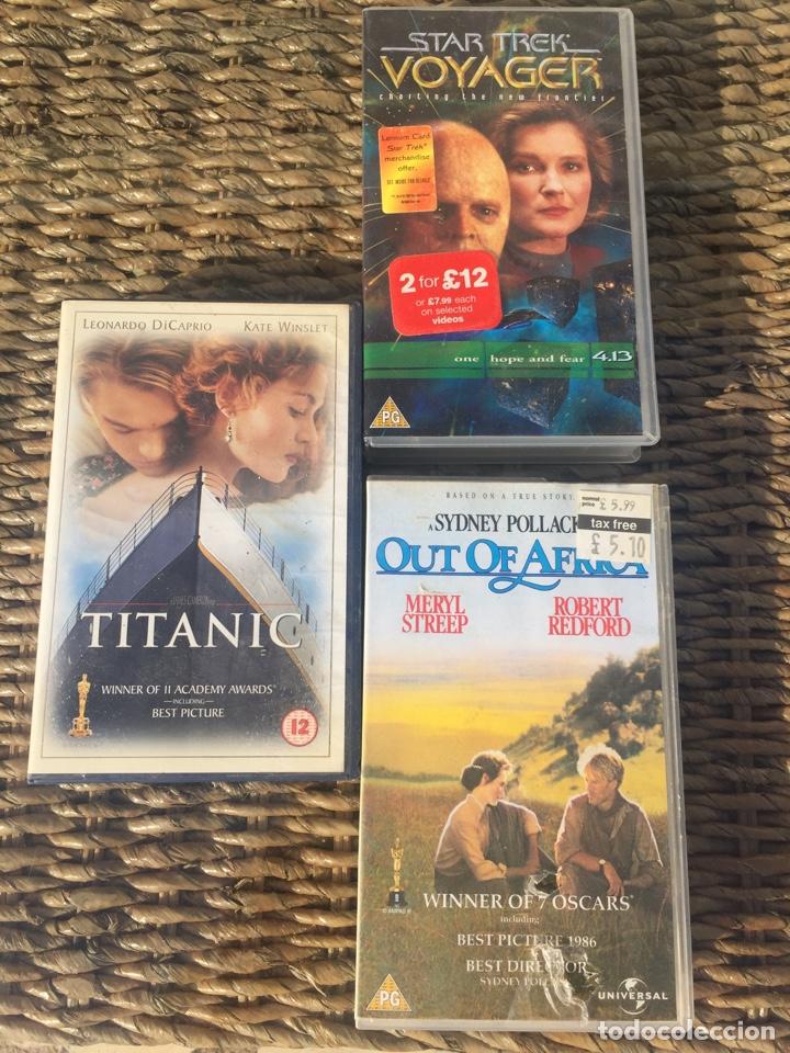 3 VHS (Cine - Películas - VHS)