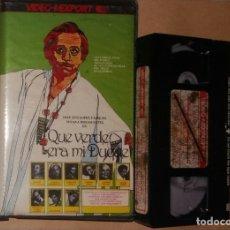 Cinéma: VHS • QUÉ VERDE ERA MI DUQUE (1980, ESPAÑA) JOSÉ MARÍA FORQUE, JOSÉ LUIS LÓPEZ VÁZQUEZ. Lote 128006415