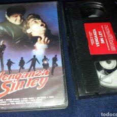 Cine: VENGANZA SIN LEY- VHS- DIR: PAUL DONOVAN. Lote 128032359