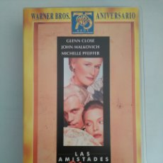 Cine: VHS LAS AMISTADES PELIGROSAS. Lote 128078038