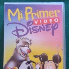Cine: MI PRIMER VIDEO DISNEY - VHS. Lote 128209191