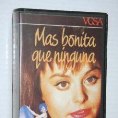 Cine: MAS BONITA QUE NINGUNA (ROCÍO DURCAL, GRACITA MORALES) *** VHS CINE *** VGSA (1987). Lote 128411271