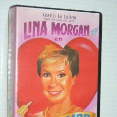 Cine: SÍ AL AMOR - TEATRO LA LATINA - (LINA MORGAN) *** VHS CINE ESPAÑOL *** DIVISA EDICIONES (1997). Lote 128413479